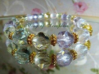 (SOLD)夏っ!宝石質のシャーベットカラー☆ブレスの画像