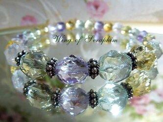 夏っ!宝石質のシャーベットカラー☆ブレス(シルバー925)の画像