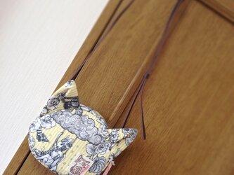 まのちゃんポシェット〈ジョリーポム・イエロー〉の画像