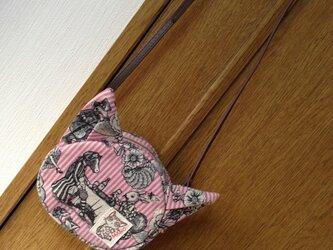 まのちゃんポシェット〈ジョリーポム・ピンク〉の画像