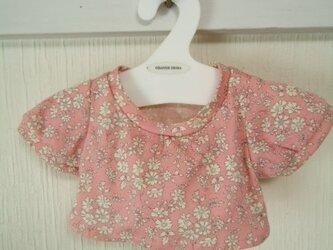 ダッフィーお洋服 Tシャツ(リバティピンク)の画像