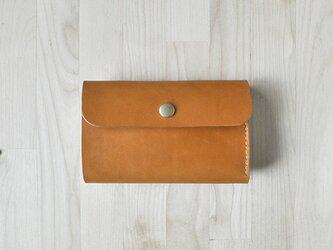 三つ折り財布【受注生産】の画像
