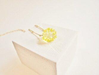 Hikari Tubu ネックレス  yellowの画像