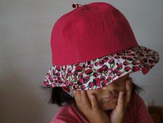 #5 リバティープリント子どもぼうしの画像