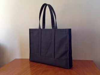 A3 Tote Bag[チャコールグレー]の画像
