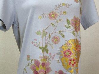草花  手描Tシャツの画像