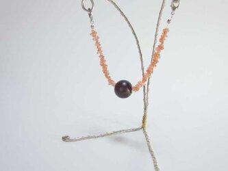 マグネット羽織紐(サンストーン)の画像