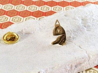 ◆チョウチンおばけ◆真鍮ピンバッジ 付喪神2の画像