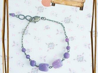 *purple beads*の画像