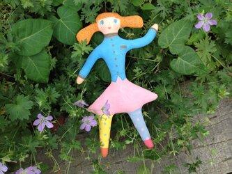 壁掛け人形 カラフルちゃん の画像