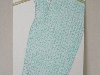 葉書〈knit-7〉の画像