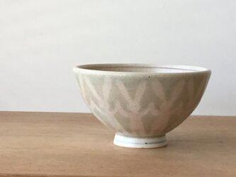 茶碗 並びうさぎ緑の画像