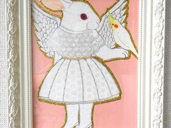 うさぎ天使の画像