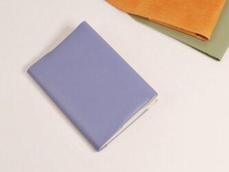 ブックカバー (新書サイズ) [ブルーグレー]の画像