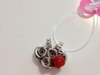 Sweettrapバラ赤珊瑚トップの画像