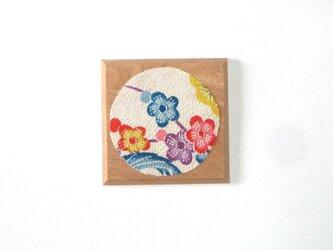 木のコースターの画像
