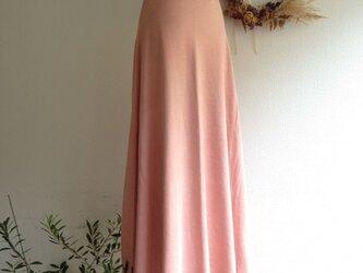 organiccotton Lakshimi skirt 茜色の画像
