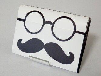 Paper Cardcase「ひげめがね」の画像