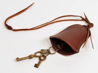 キーケース bell [ダークブラウン]の画像