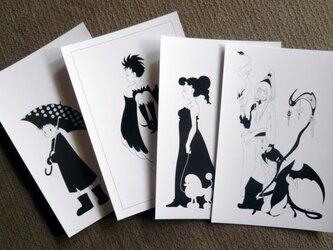 ポストカード4種セットの画像