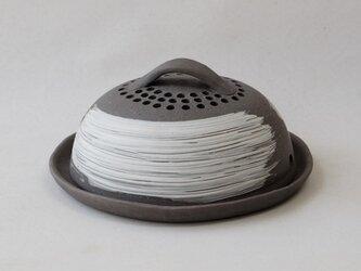 黒陶蚊取線香炉の画像