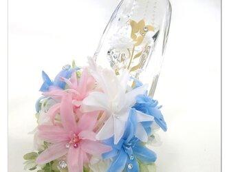 【プリザーブドフラワー/ガラスの靴シリーズ】の画像