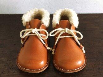 fluffy boots * tangerineの画像