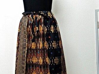 タイ更紗◇オリジナルデザイン◇変形スカートの画像