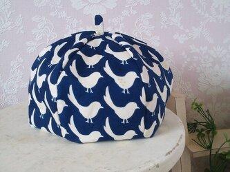 (受注製作)ことり*リバーシブルベレー帽[ベビー]の画像