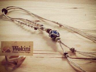 Wokini★ブルーメノウ★HEMPアクセサリーの画像