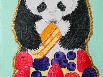 パンダケーキの画像