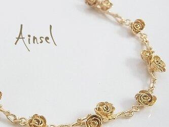 ローズガーデンブレスレット(gold)の画像