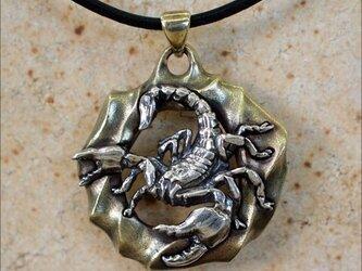 ネックレス 蠍の画像