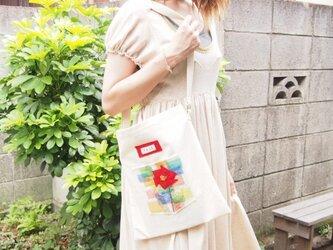 帆布BAG【花】の画像