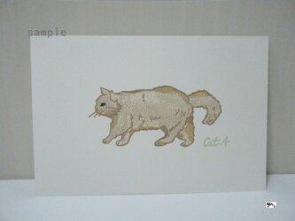 葉書〈cat④-3〉の画像
