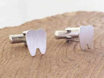 Tooth ◇歯のカフス◇Silverの画像