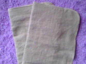 オーガニックリネン布ナプキンLサイズの画像