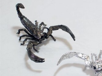 Miniオブジェ「蠍」(真鍮)の画像