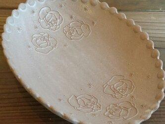 Rose だ円の器〈ベージュ〉の画像