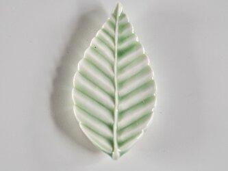 ブナの葉箸置き の画像