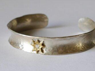 Star bangle(silver)の画像