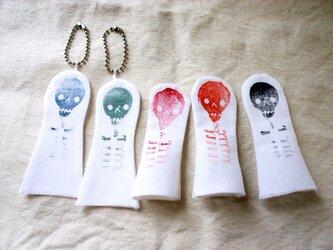 布の指人形(5個セット)の画像