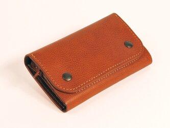 財布 wrap-M [ブラウン]の画像