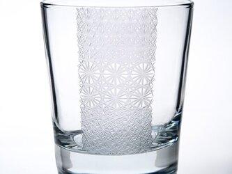 東京切子(花切子)ロックグラス Professorの画像