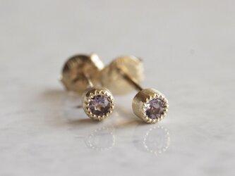 Birthstone earrings [EP033K10]の画像