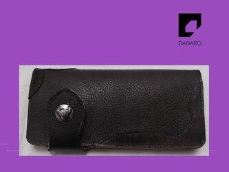 イタリア製牛革財布 「キアニナ」 の画像