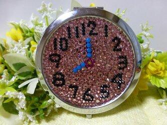 デコミラー∞丸型∞時計の画像