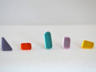ヒカリノカケラ・toy box (5つ組ピアス)の画像