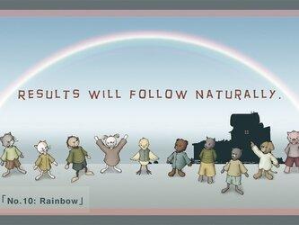 ポストカード3枚1組セット No.10-「Rainbow」の画像
