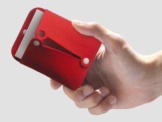 フセンケース〈赤色〉の画像